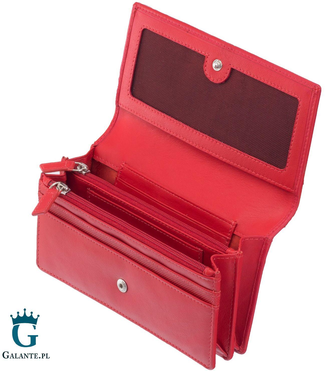 Zgrabny portfel damski valentini 15v-550 rfid