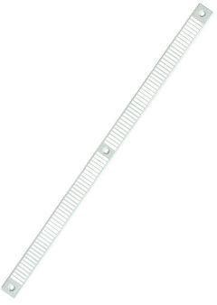 Okap płaski nawiewnika pod roletę - biel/RAL9003