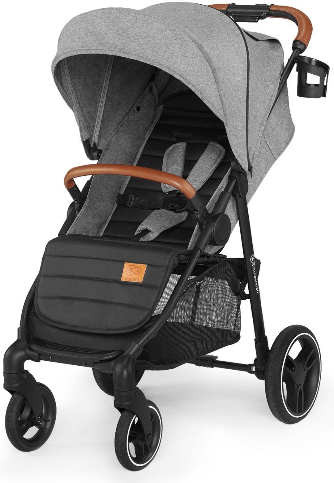 Kinderkraft Grande LX 2020 wózek spacerowy szary