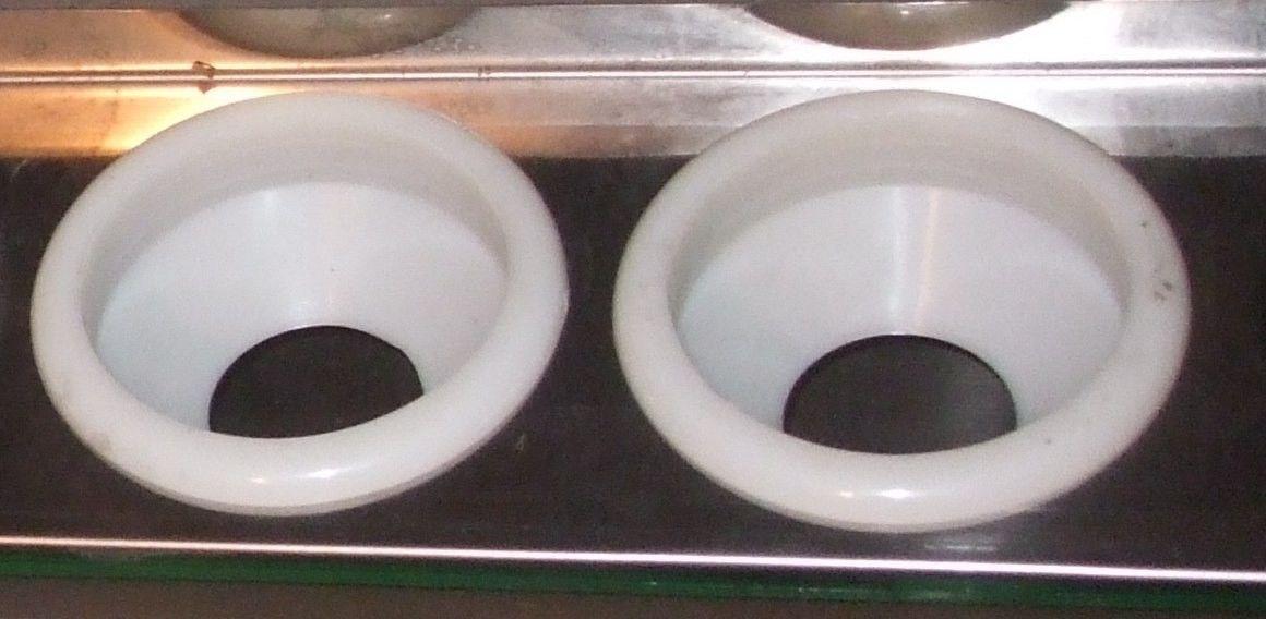 uchwyt rury próżniowej 58 mm. (systemy bezciśnieniowe)