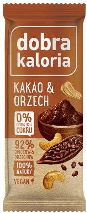 Baton kakao i orzech 35 g Dobra Kaloria