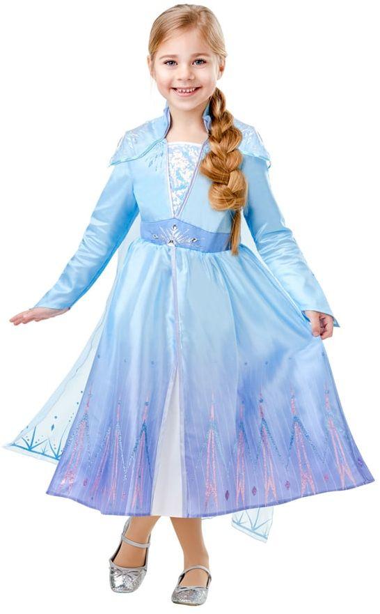 Kostium Frozen 2 Elsa Deluxe dla dziewczynki - Roz. L
