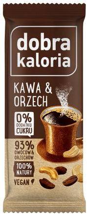 Baton kawa i orzech 35 g Dobra Kaloria