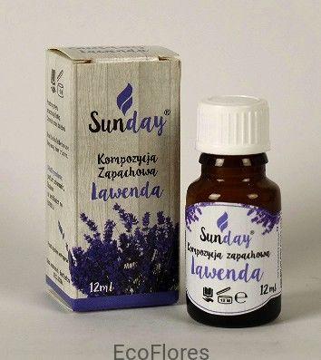 Olejek zapachowy Lawenda SunDay