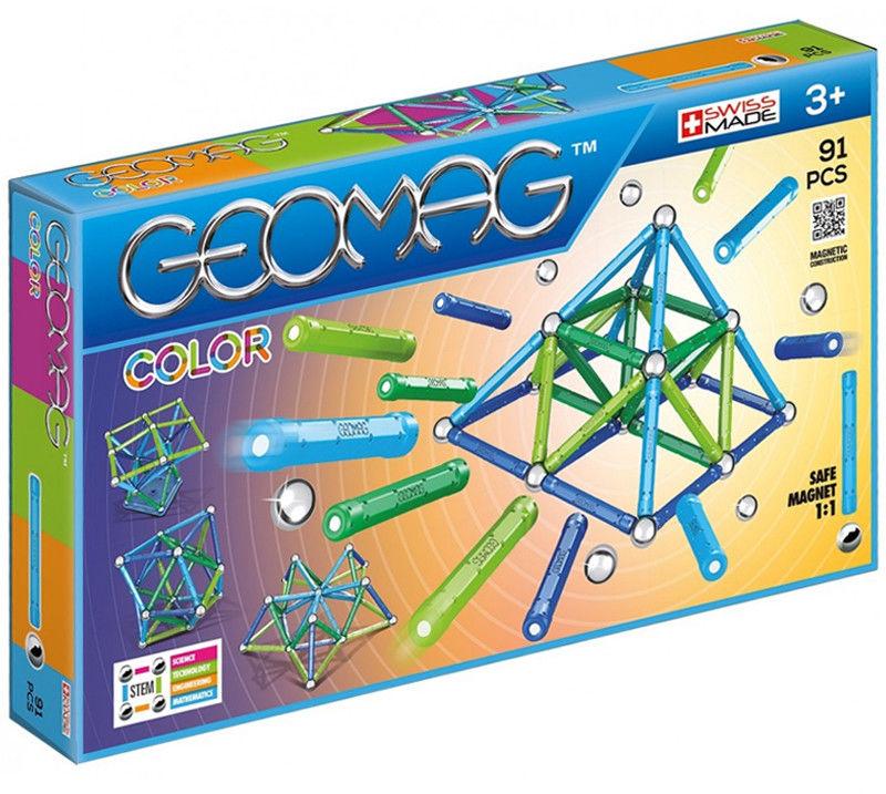 GeoMag - Klocki magnetyczne Color 91 el. 263