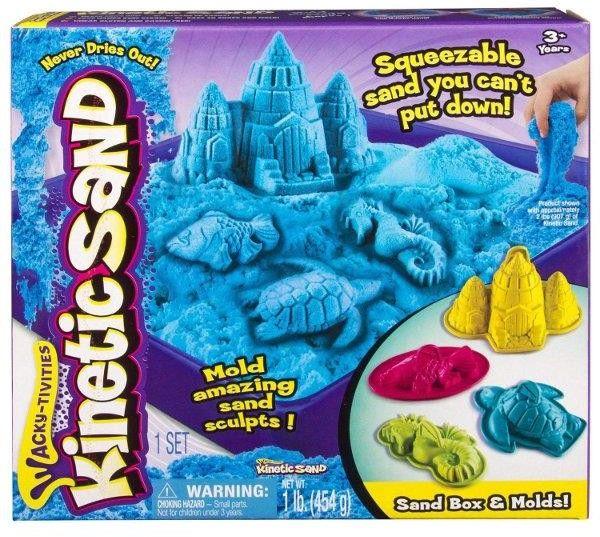 Kinetic Sand - Zamek Niebieski zestaw z piaskownicą 20106636 6024397