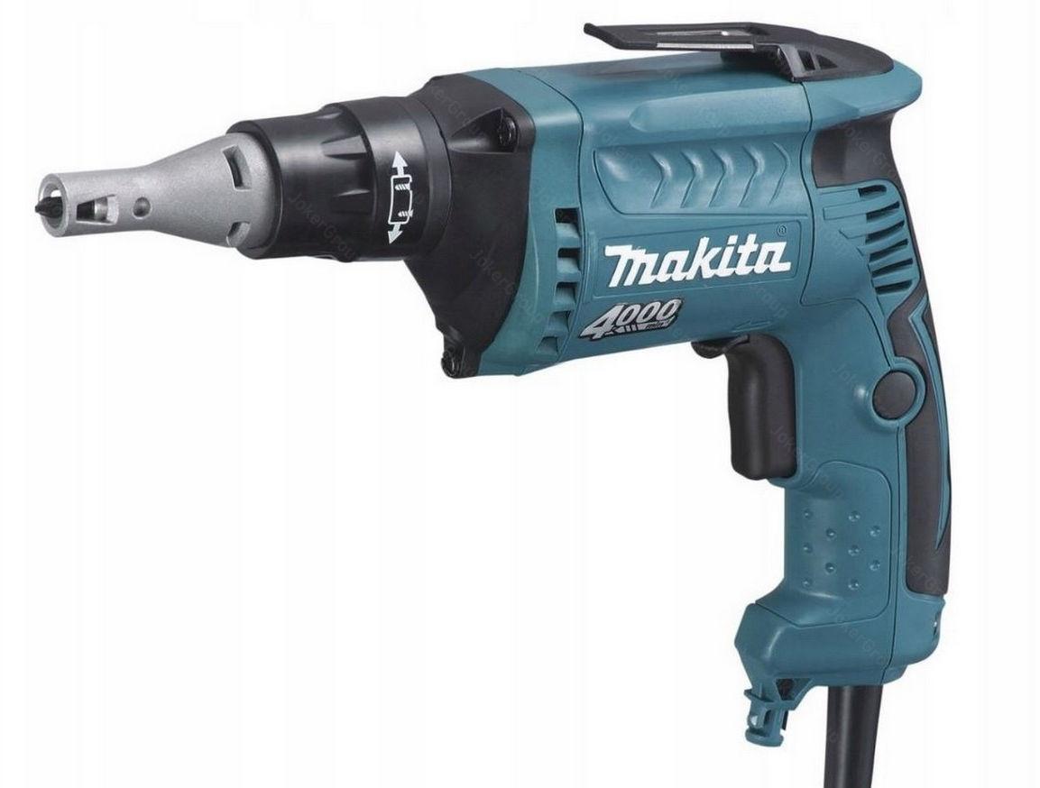 elektryczna wkrętarka do płyt G-K 570W, Makita [FS4300]