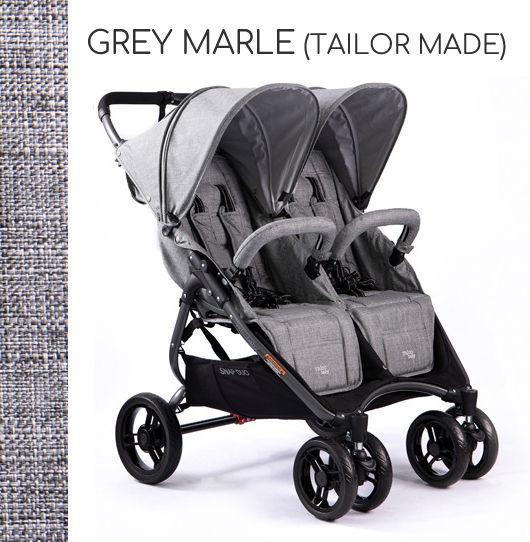 VALCO BABY SNAP DUO+GRATIS! DARMOWA DOSTAWA! ODBIÓR OSOBISTY! - Grey Marle (Tailor Made)