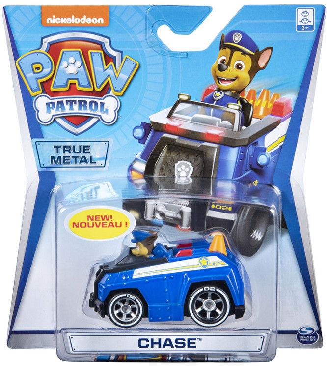 Psi Patrol - Chase i jego pojazd True Metal 20119530 6054503