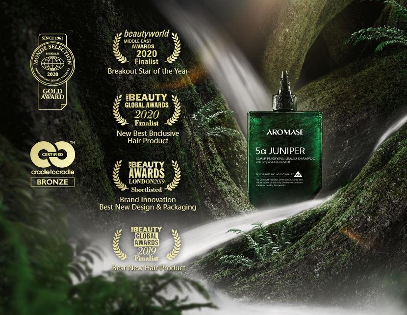 Aromase Juniper 5a - Pre-szampon Płyn oczyszczający