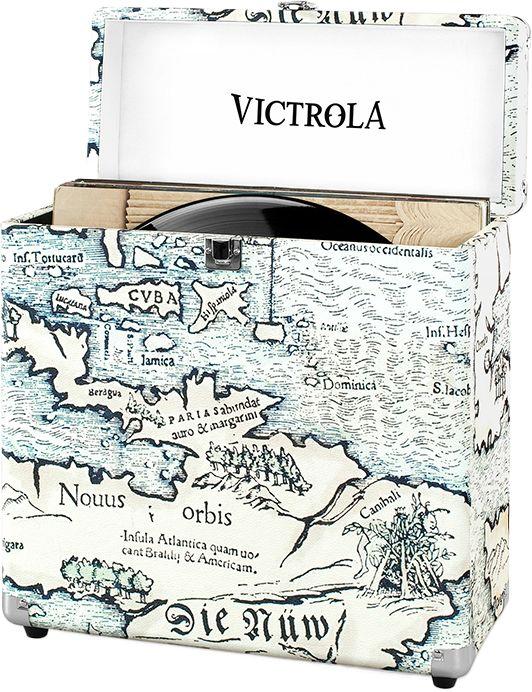 Victrola Vinyl Record Case Map  SALONY FIRMOWE W 12 MIASTACH  25 LAT NA RYNKU  ODBIÓR OSOBISTY
