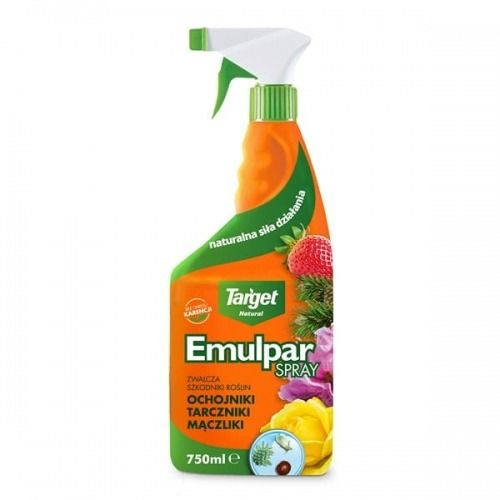 Emulpar spray  zwalcza szkodniki roślin domowych  750 ml target