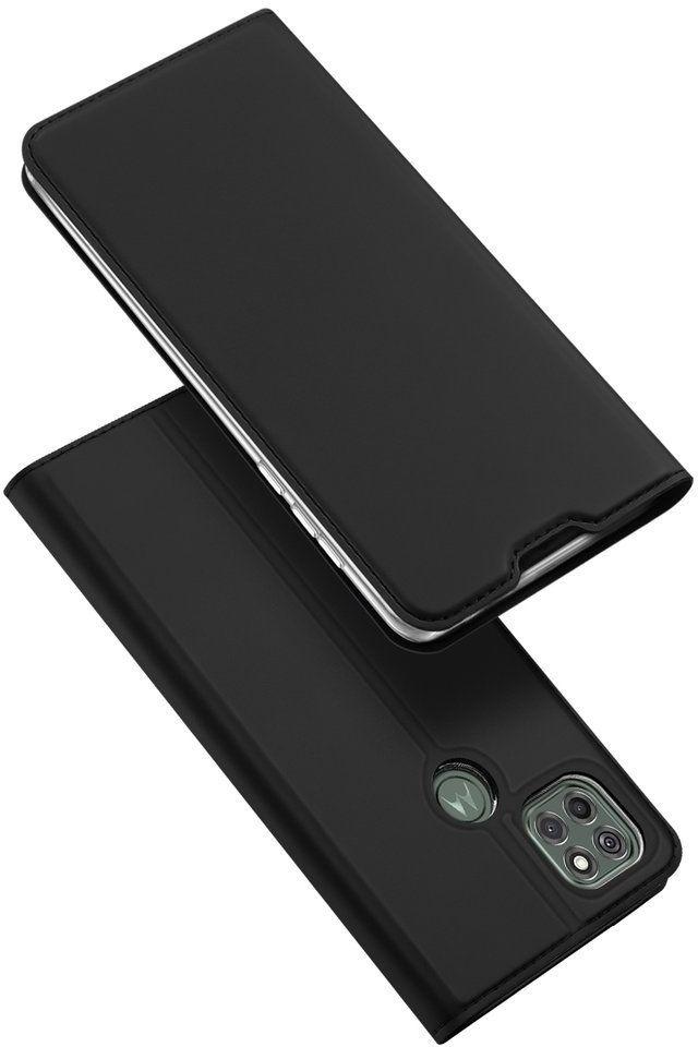 DUX DUCIS Skin Pro kabura etui pokrowiec z klapką Motorola Moto G9 Power czarny