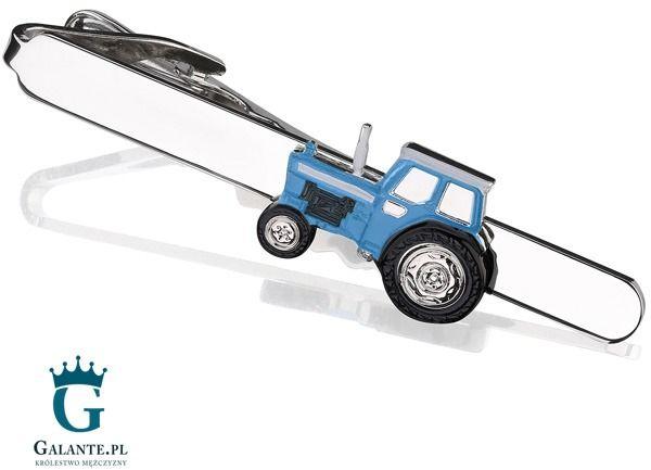 Spinka do krawata Niebieski Traktor SK-1296