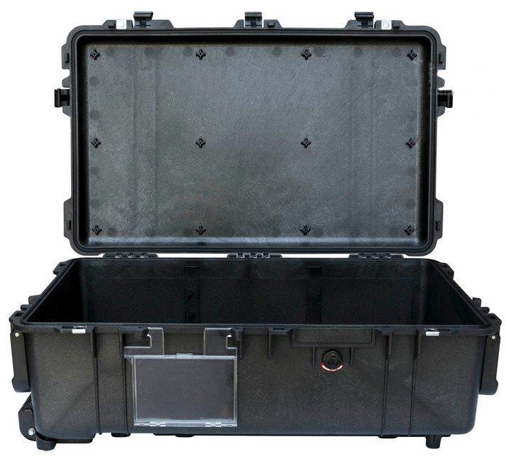 Peli 1670 bez gąbki - wodoodporna, pancerna skrzynia transportowa