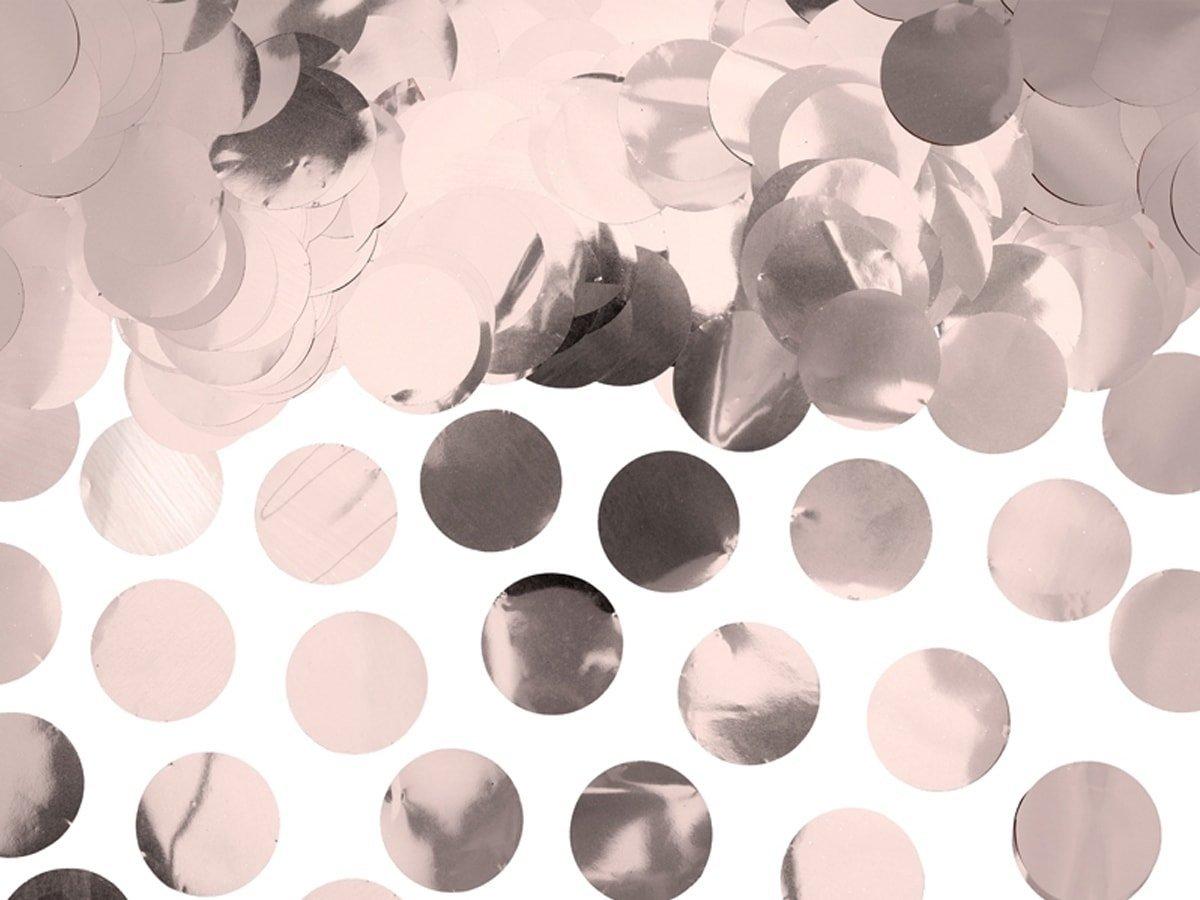 Konfetti kółka złoto-różowe - 15g