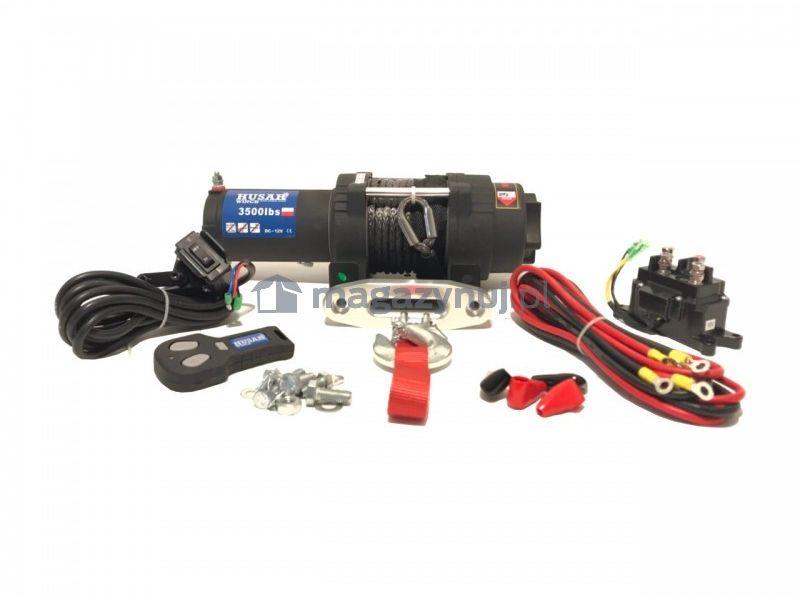 Wyciągarka elektryczna BSTS 3500 Lbs (lina syntetyczna)