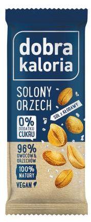 Baton solony owoc orzecha 35 g Dobra Kaloria