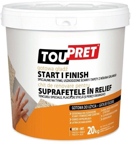 Gotowa gładź Toupret do 5 mm 20 kg