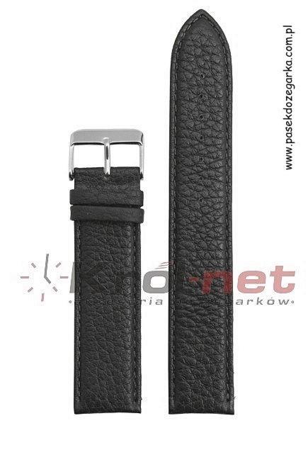 Pasek 205EL/01/22 - czarny, long