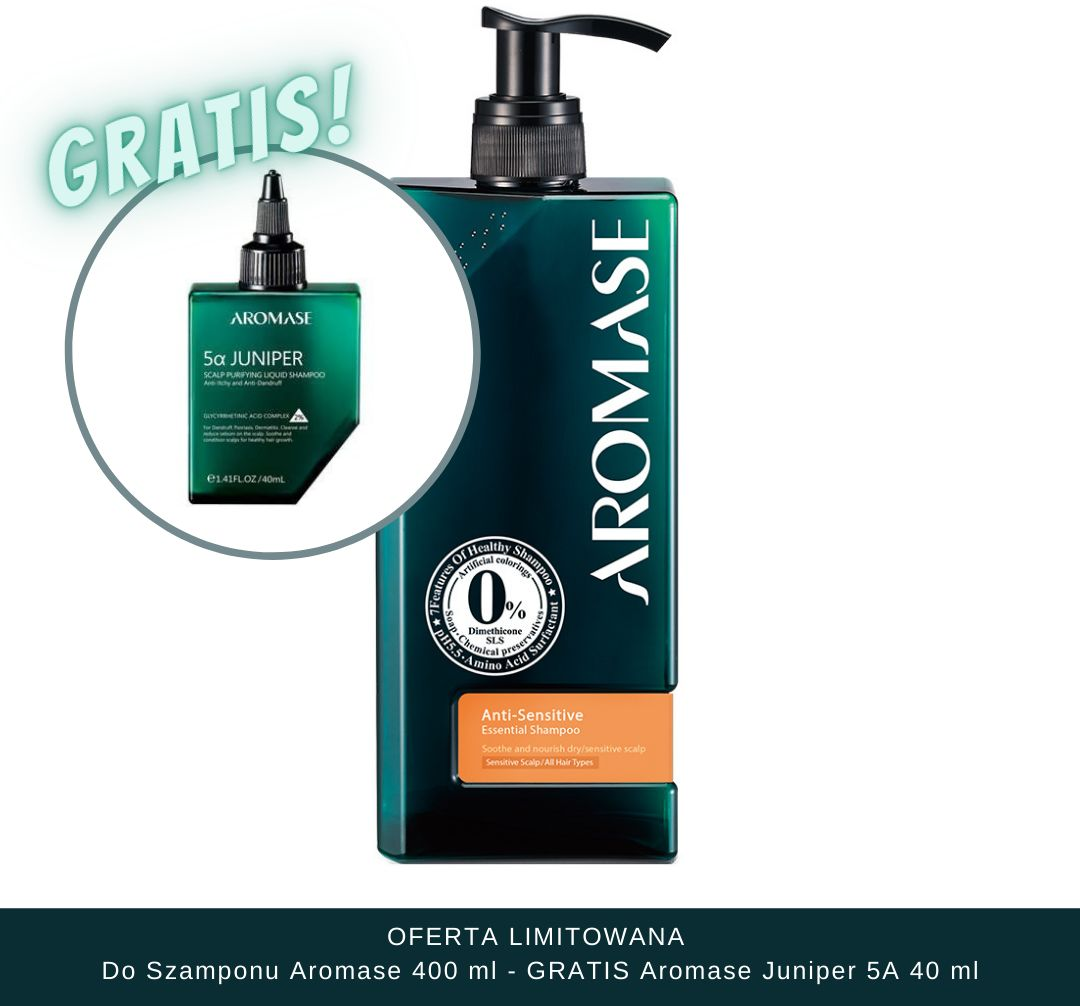 Aromase Anti-Sensitive Essential Shampoo