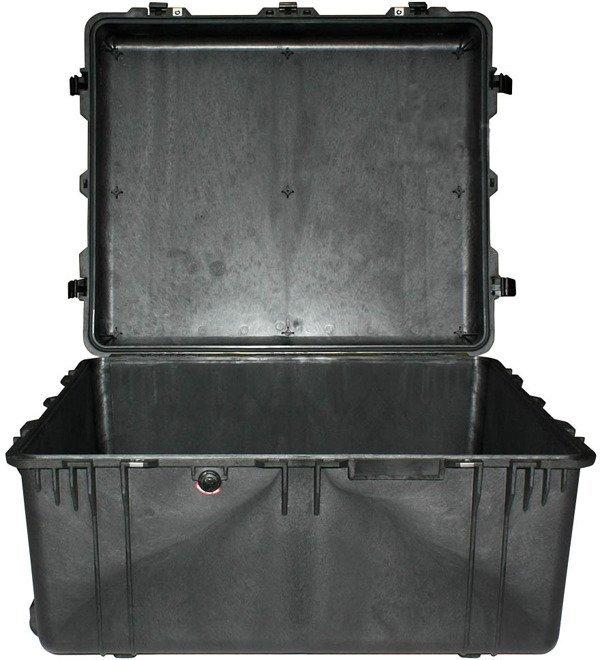 Peli 1690 bez gąbki - wodoodporna, pancerna skrzynia transportowa