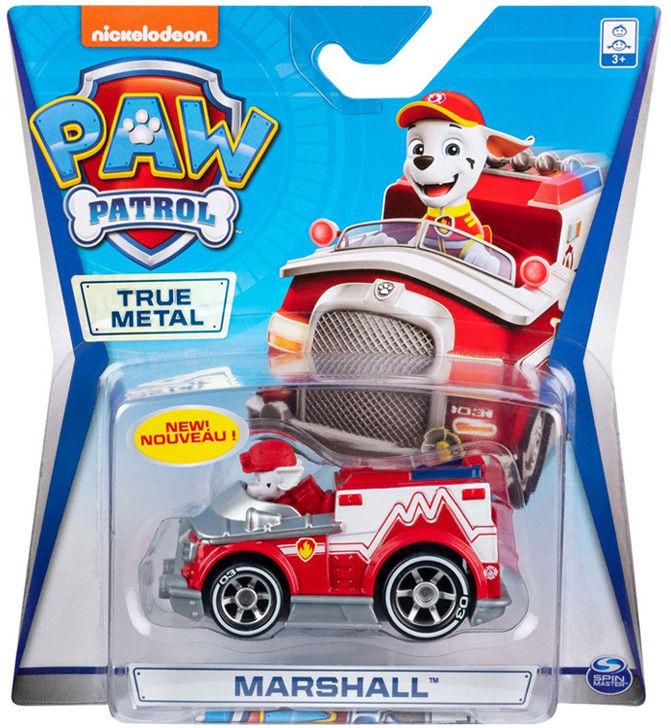 Psi Patrol - Marshall i jego wóz strażacki True Metal 20120031 6054503