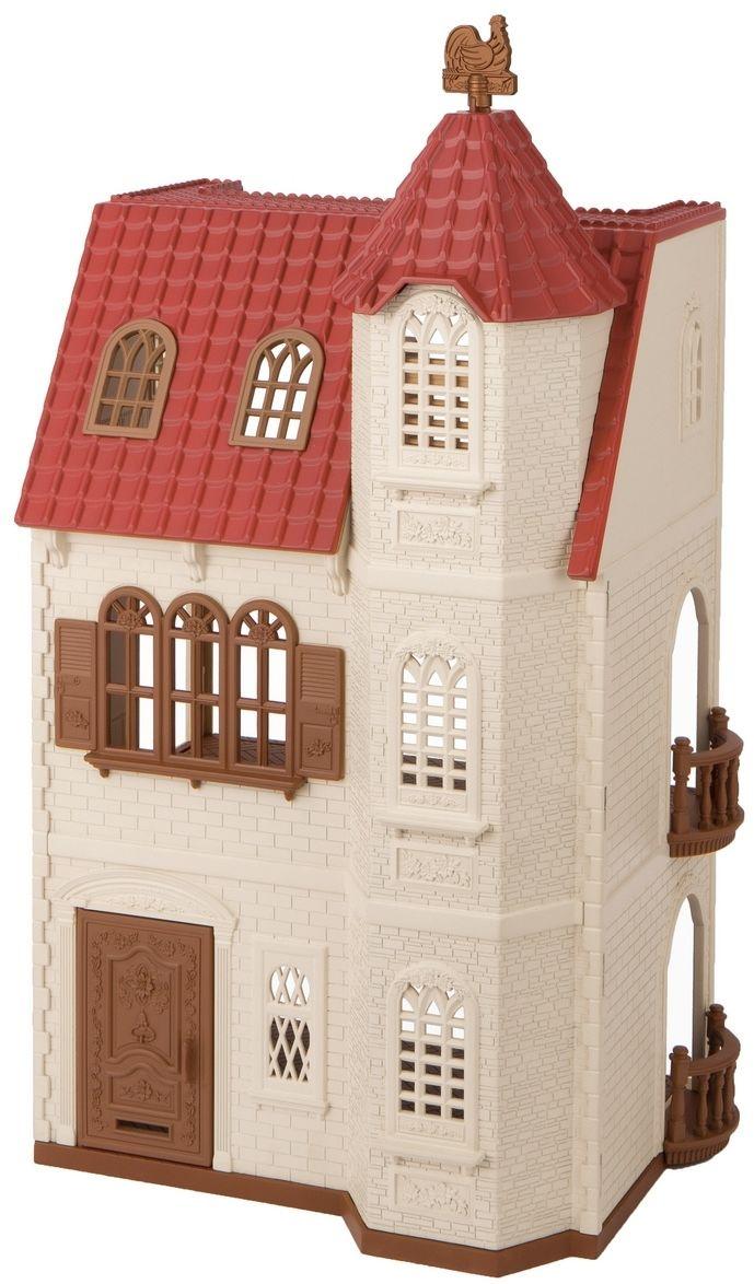 Sylvanian families 5400 dom z wieżą i czerwonym dachem