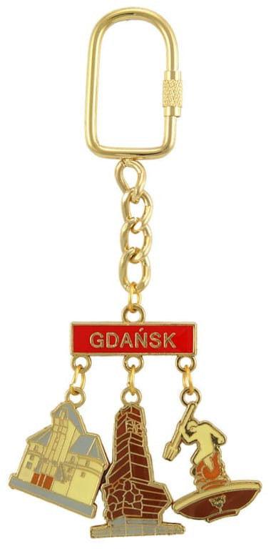 Brelok zawieszki Gdańsk