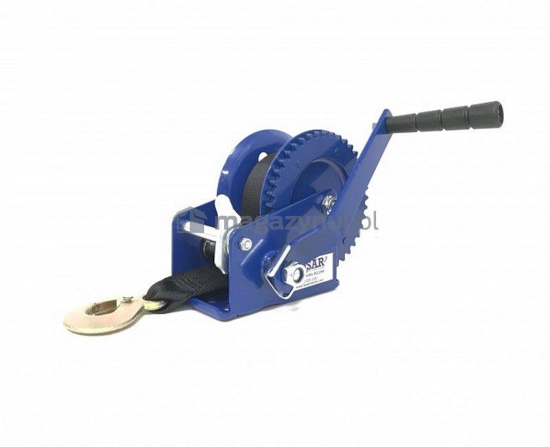 Wyciągarka ręczna BSTR 1200 Lbs (pas 10m, uciąg 540 kg)