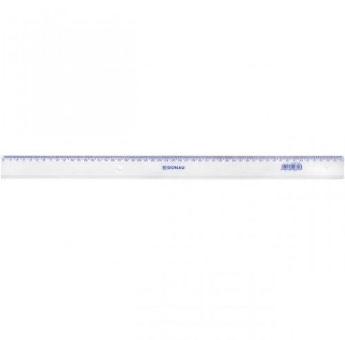 Linijka DONAU 50cm transparentna 7055001PL-00