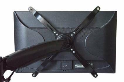 "Digitus DA-90347 uchwyt do monitora 76,2 cm (30"") Czarny"