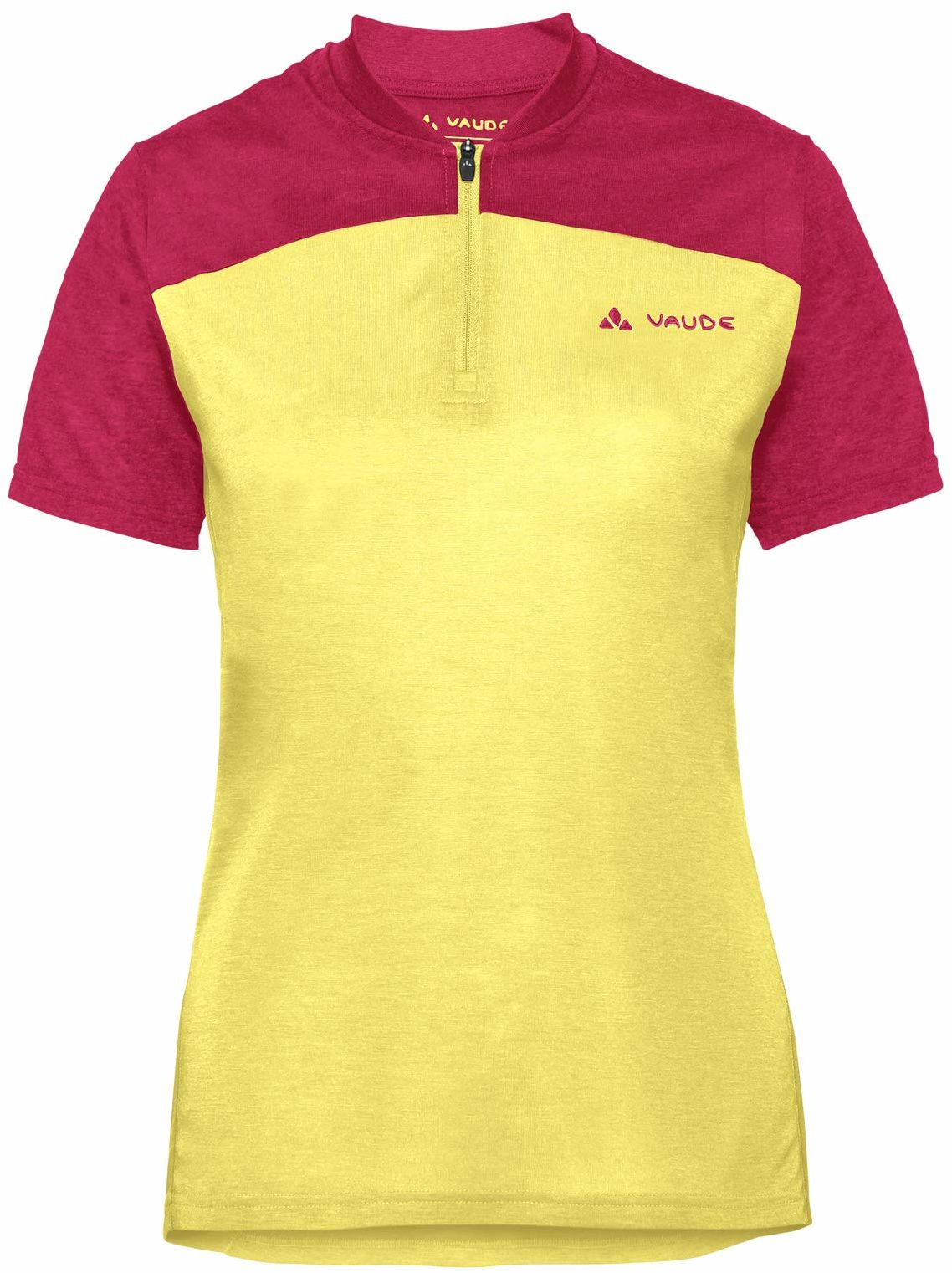 VAUDE Tremalzo koszulka damska żółty Mimosa 34