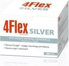 4Flex Silver kolagen na stawy z wapniem i witaminą D 30 saszetek