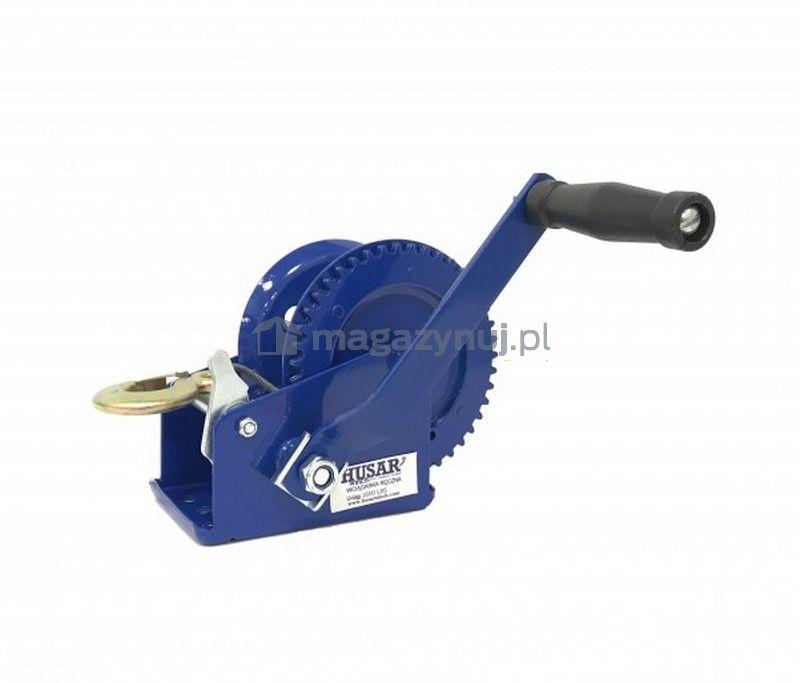 Wyciągarka ręczna BSTR 1600 Lbs (lina stalowa 10 m, uciąg 720 kg)