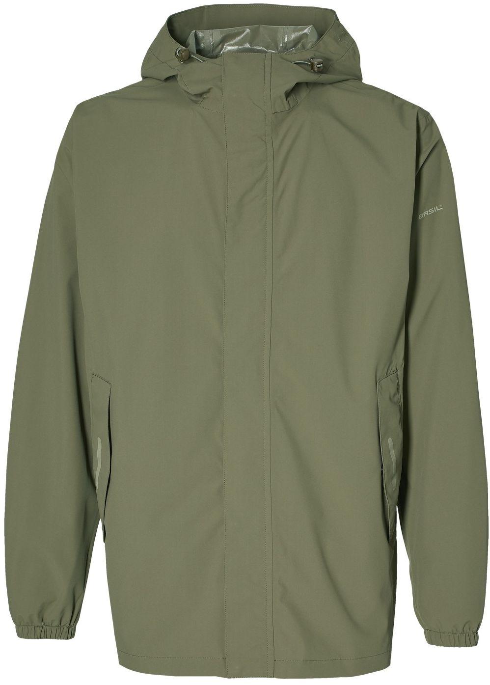 BASIL kurtka przeciwdeszczowa hoga olive green B-40093 Rozmiar: S,basil-B-40093