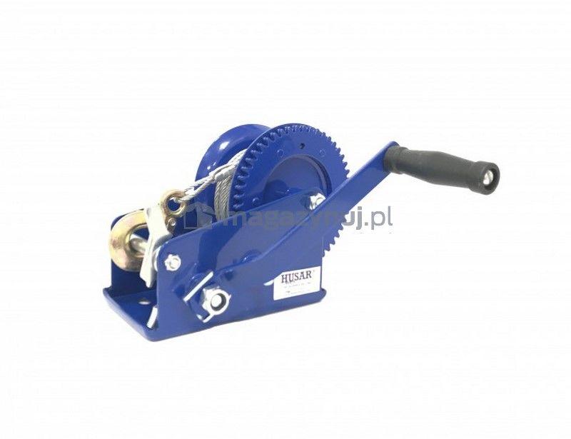 Wyciągarka ręczna BSTR 2500 Lbs (lina stalowa 10 m, uciąg 1133 kg)