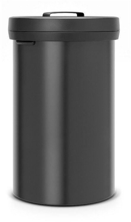 Brabantia - kosz ''big bin''  60l - czarny - czarny