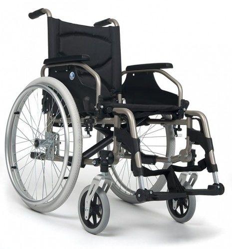 Wózek inwalidzki aluminiowy V200