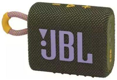 Głośnik Bluetooth JBL Go 3 Zielony. > RABATOMANIA! 5-ty produkt 99% TANIEJ! ODBIÓR W 29 MIN DARMOWA DOSTAWA DOGODNE RATY!