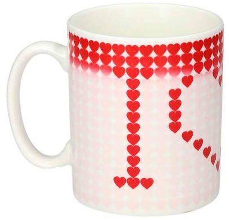 Magiczny kubek ceramiczny Serduszka