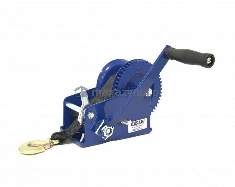 Wyciągarka ręczna BSTR 2500 Lbs (pas 10 m, uciąg 1133 kg)