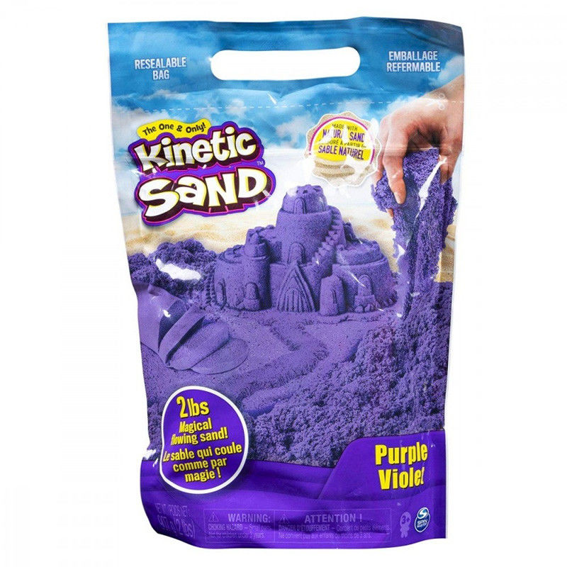 Kinetic Sand - Żywe kolory Fioletowy 20106426 6046035