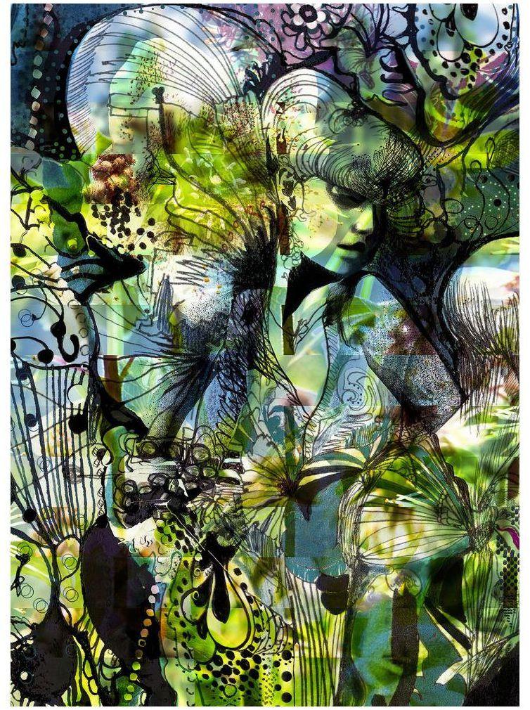 Fototapeta Aphrodite''s Garden 184 cm x 254 cm