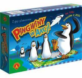 Pingwiny w akcji-gra