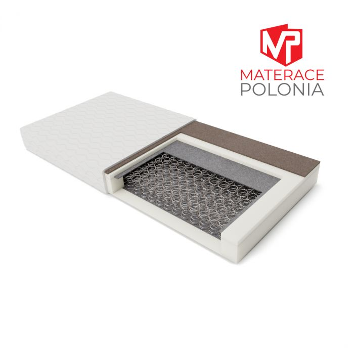 materac bonellowy SARMATA MateracePolonia 140x200 H2 H3 + 10 lat gwarancji
