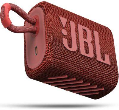 Głośnik Bluetooth JBL Go 3 Czerwony. > RABATOMANIA! 5-ty produkt 99% TANIEJ! ODBIÓR W 29 MIN DARMOWA DOSTAWA DOGODNE RATY!