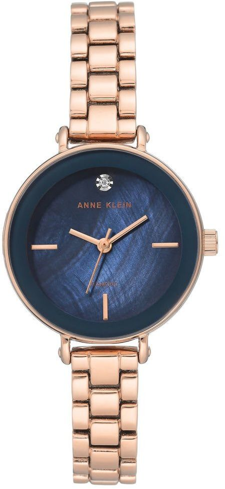 Zegarek Anne Klein AK/3386NMRG Diamond Rose Gold