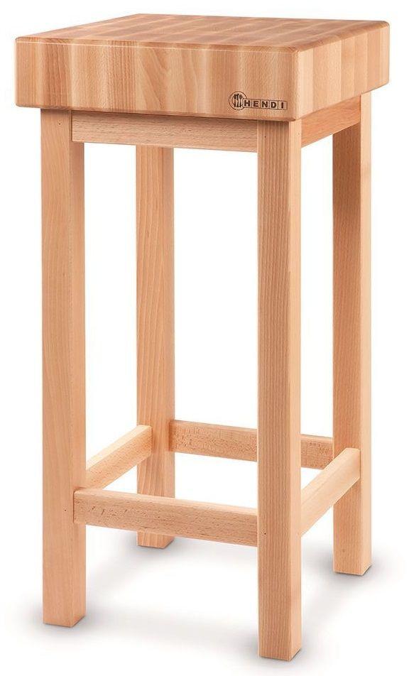 Kloc masarski drewniany