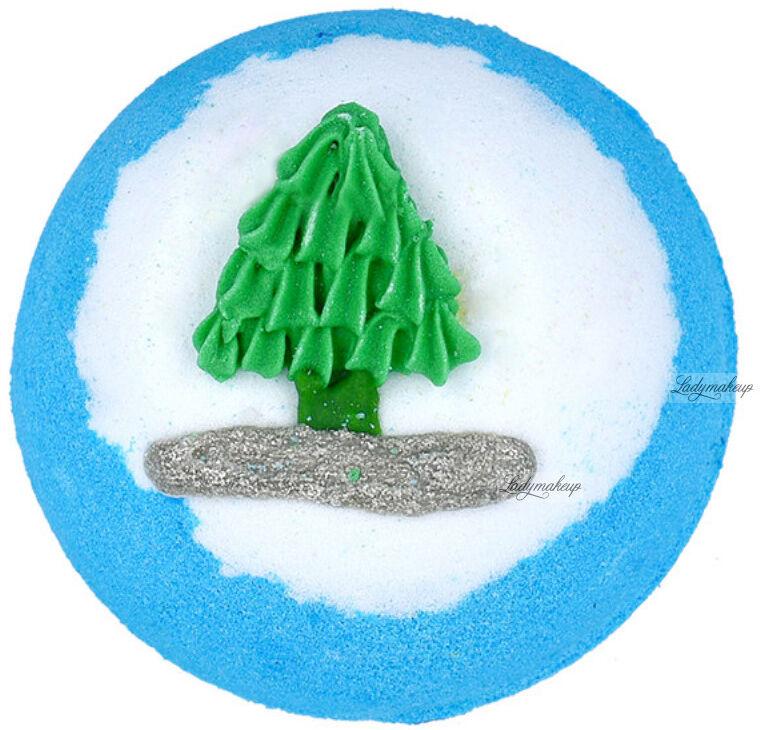 Bomb Cosmetics - Rocking Around the Christmas Tree - Musująca kula do kąpieli - 160 g
